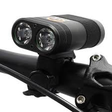 Lights & Reflectors Double <b>LED Rechargeable</b> Bicycle Head Light ...