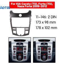 <b>Двойной Din Car</b> Dash Kit Radio Facia Fascia стерео панель ...