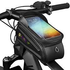 WATERFLY Bike Frame Bag Waterproof Bike Front ... - Amazon.com