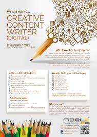 creative content writer job vacancy in sri lanka 201502067ih5895ftyualcn jpg