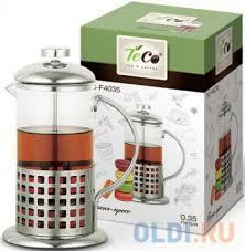<b>Френч</b>-<b>пресс Teco</b> TС-F4035 <b>0</b>,35 л — купить по лучшей цене в ...
