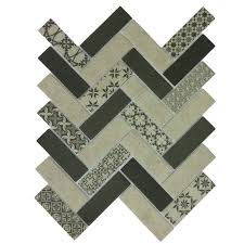 <b>Стеклянная мозаика</b> Tweed Gray за 654 рублей в салоне ...