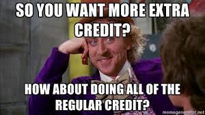 Extra credit and real-world preparedness | The Full 360...People ... via Relatably.com