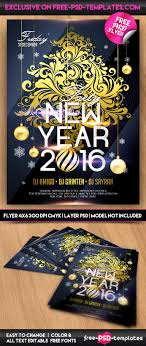 new year 2016 psd flyer template psd templates preview new year 2016