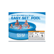 Надувной <b>бассейн Intex</b> Easy Set <b>Cars</b> 305х76см 28120 купить в ...