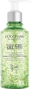<b>Очищающий гель</b>-<b>мусс для</b> лица <b>L'Occitane</b> En Provence Infusions ...