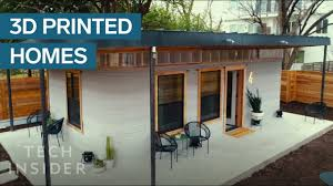 3D-Printed Home Can Be Constructed For Under $4,000 - YouTube