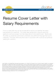 doc 615790 salary requirement template salary requirements examples salary requirements cover letter cover letter examples