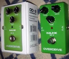 <b>Педаль</b> эффектов NUX OD-3 Vintage Overdrive – купить в Москве ...