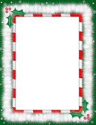 christmas border for christmas border template