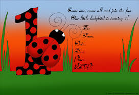 first birthday party invitations and ready to print 1st sweet ladybird or ladybug birthday invitation for girls