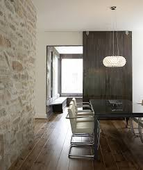 contemporary dining room stone dining  modern home with natural stone dining room wall surprising din
