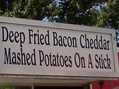 Minnesota State Fair on Pinterest | Corn Dogs, Deep Fried Bacon ... via Relatably.com