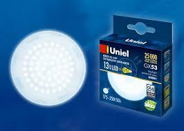 <b>Лампа</b> светодиодная (UL-00005314) <b>Uniel GX53 13W</b> 6500K ...