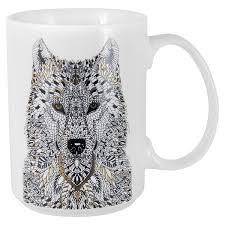 <b>Кружка Home</b> & <b>Style</b>, Wild, Волк, 0,5 л от Home&Style (арт. HS3 ...