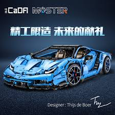 <b>3842Pcs</b> Doublee Technic <b>Cada C61041</b> Lamborghini Centenario 1 ...
