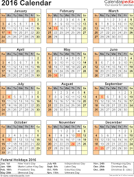 calendar printable word calendar templates template 10 2016 calendar for word year at a glance 1 page