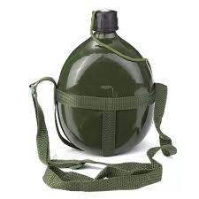 Best 1.5L Military Canteen <b>Aluminum Bicycle Cycling</b> Military <b>Water</b> ...