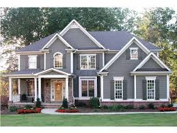 Five Bedroom Home and House Plans at eplans com   BR Houses        five bedroom floor plan that suits your needs exactly  Choose a finished basement  three car garage  elegant great room  or dozens of other amenities to