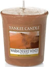 <b>Ароматическая свеча</b> - Yankee Candle Warm Desert <b>Wind</b> – купить ...