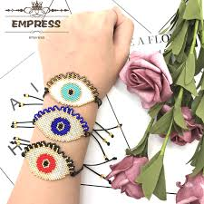 Empress New Fashion Lucky Woman Ethnic Turkey Bling Evil Eyes ...