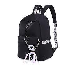<b>2019 Women</b> Waterproof Backpack Girl School <b>Shoulder Bag</b> USB ...