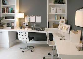 modern office wall art home office grey wall paint in home office design with white shelfs art for the office wall