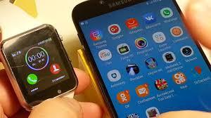 Как настроить и подключить <b>умные часы</b> DZ09 . GT08. A1. smart ...