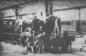 「1848, first railway in parselona, spain」の画像検索結果