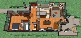 jpg a  Not So Big Bungalow main level plan