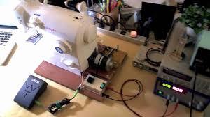 diy sewing machine motor control retrofit