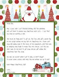 printable letters from santa claus templates best business monday 29 2010 r1hpvtue