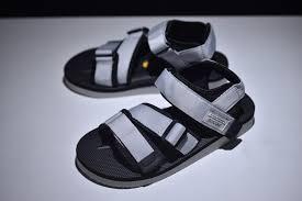 Latest Style SUICOKE Vibram <b>Men's</b>-Women's Grey/Black <b>Summer</b> ...