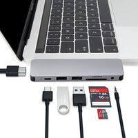 «<b>USB</b>-<b>хаб</b> HyperDrive Multi-port <b>USB</b>-C GN21B (темно-серый ...
