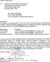 Rt880 4g Lte Cat 4 Cpe Cover Letter Confidentiality Request Letter