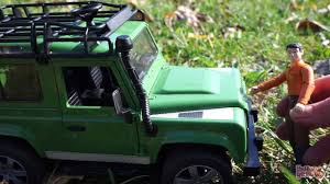 Машинки <b>Bruder</b>. Джип <b>Land Rover</b> Defender Обзор <b>игрушки</b> ...