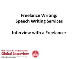 Freelance Writing  Speech Writing Services SlideShare