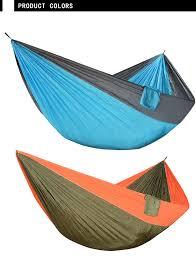 Outdoor King Size <b>Camping Hammock</b> Large 2 Person Parachute ...