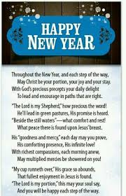 Pin by Patricia Allen on Christian beliefs   Happy new year poem ...