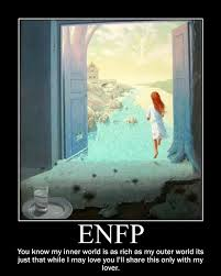 To love an ENFP means to accept everything about her including her ... via Relatably.com