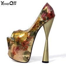 Fashion <b>Women</b> Pumps Sexy <b>Women Ultra</b> High Heels 20 cm ...
