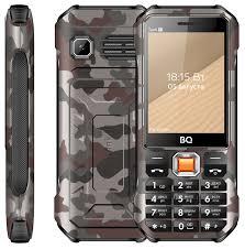 Кнопочный <b>телефон BQ</b> 2824 Tank T оснащён термометром и ...