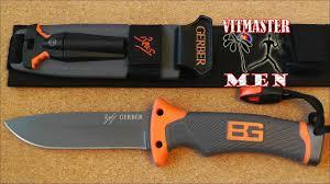 <b>Нож</b> выживания <b>Gerber</b> Bear Grylls - YouTube