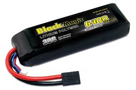 <b>Аккумулятор Black Magic 11.1V</b> 6400mAh 3S 30C (TRX Plug) в ...