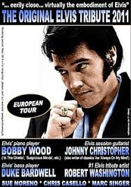 'Original Elvis Tribute' show with Bobby Wood & Johnny Christopher: The 'Original Elvis Tribute' show will be returning in May 2011, and we will have ... - Original_Elvis_tribute_poster2011x