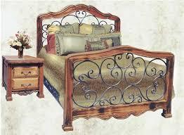 real wood bedroom furniture industry standard: king bed queen bed custom bedroom furniture wrought iron bed solid wood