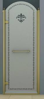 <b>Душевая дверь</b> в нишу <b>Cezares Retro</b> A B1 90 CP Br L. Купить в ...