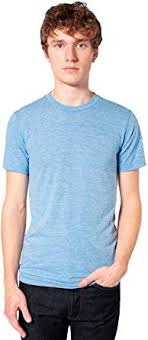 American Apparel Men's Tri-Blend Short Sleeve Track ... - Amazon.com