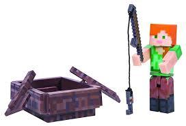 <b>Игровой набор</b> Jazwares <b>Minecraft</b> Алекс с лодкой 16491 ...
