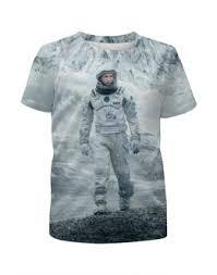 """Детские футболки c дизайнерскими принтами """"<b>интерстеллар</b> ..."""